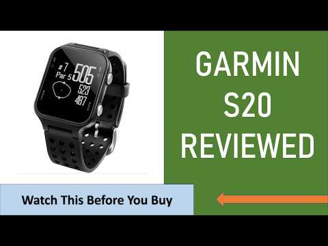 Garmin S20 Honest Review - Must Watch Before You Buy 👇