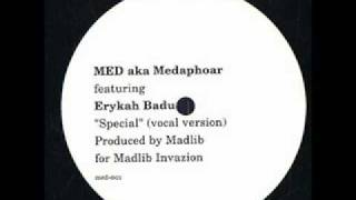 Medaphoar & Erykah Badu - Special