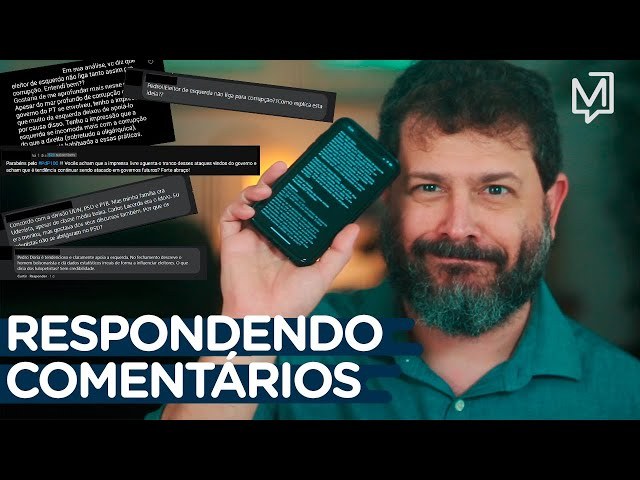Pedro Doria responde comentários enviados pelas redes sociais I Ponto de Partida