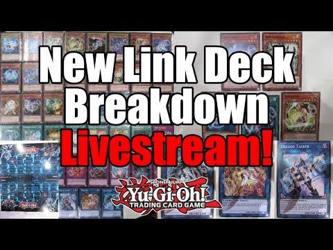 NEW YUGIOH LINK STARTER DECK BREAKDOWN! CHANGES FROM OCG!