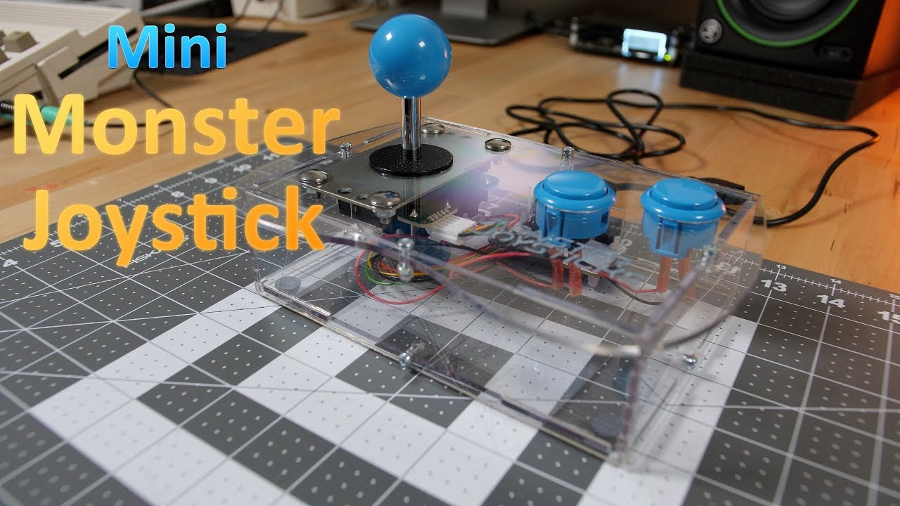 Mini Monster Joystick Review Best Joystick For Your C64 Amiga And
