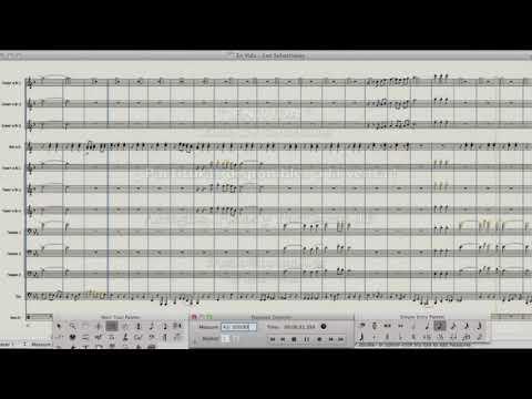 EN VIDA - Banda Los Sebastianes (Partituras)
