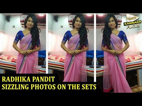 Sizzling Radhika Pandit From The Sets Of...