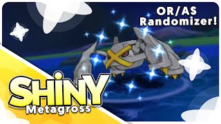 [Live] ORAS Randomizer Shiny Chain Fish Metagross at a 16 chain!