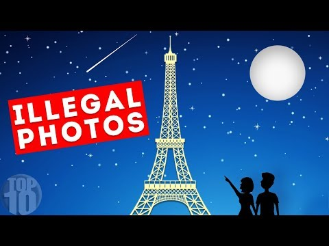 Why Taking Photos Of The Eiffel Tower At Night Is Illegal