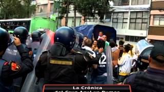 Violencia en el Cruz Azul - Pumas #CL14 : La Crónica