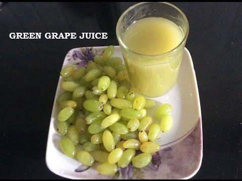 Green Grape Juice - Healthy Juice