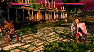 Deadliest Warrior: The Game -  Online Gameplay -  Spartan VS  Viking