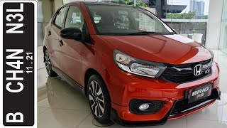 In Depth Tour Honda Brio RS Urbanite M/T [DD1] - Indonesia