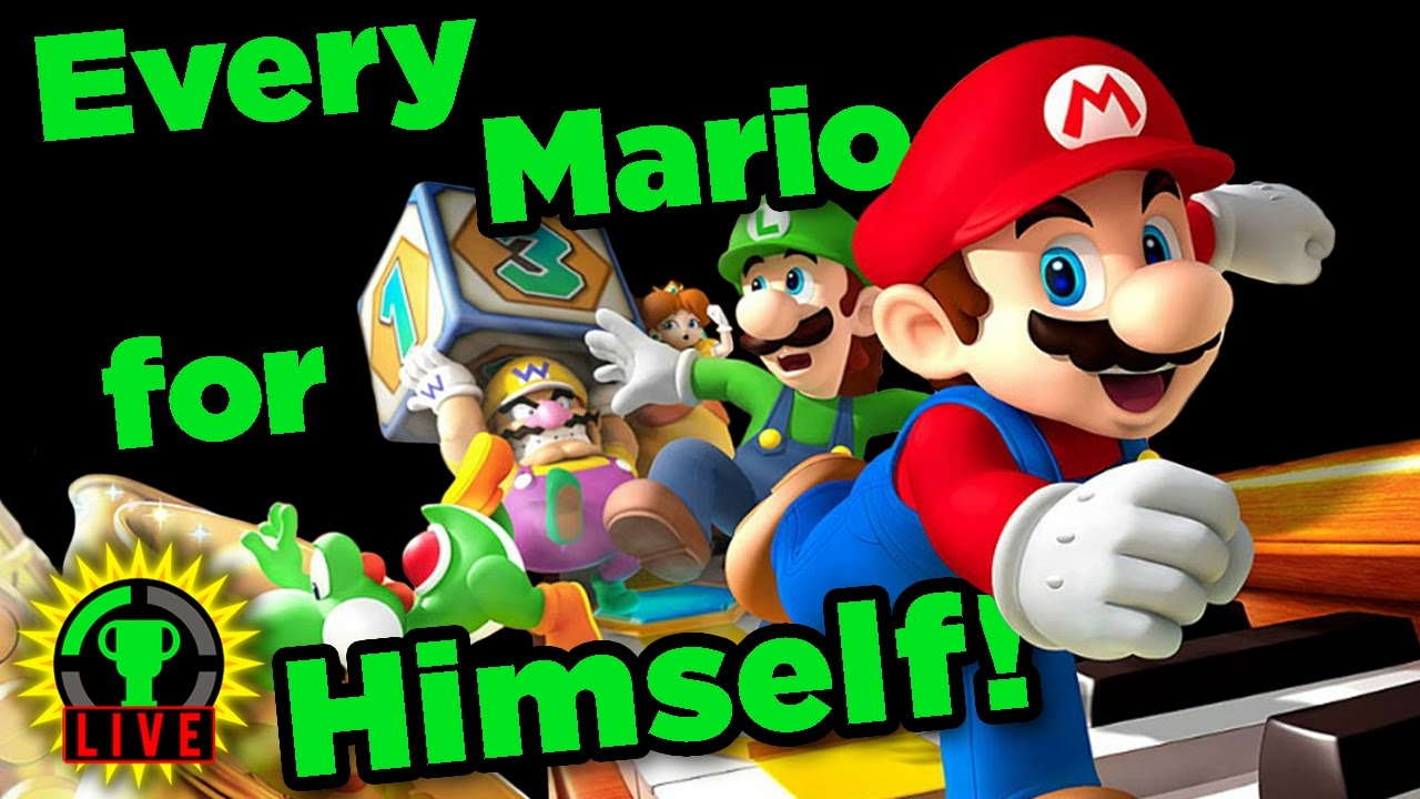 GTLive: This Game Ruins Friendships | MARIO PARTY 10 - GTLive Mario Party 10