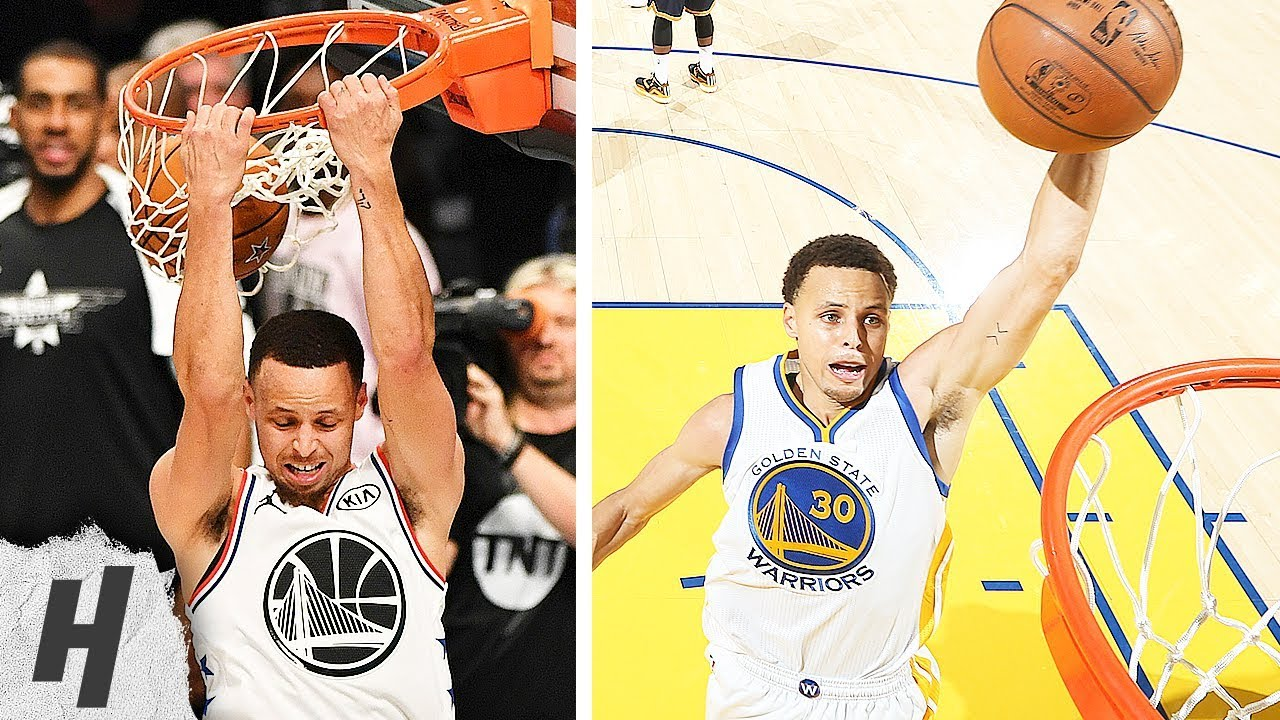 Stephen Curry NASTY Dunk Compilation (2015-2019) image