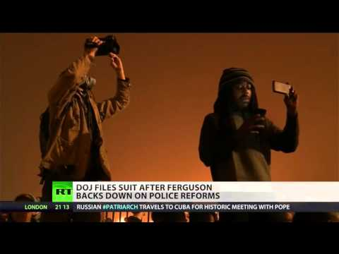 DOJ sues Ferguson while city tries to avoid police settlement
