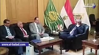 بالفيديو والصور.. جامعة بنها تبحث مع القنصل العراقي سبل التعاون