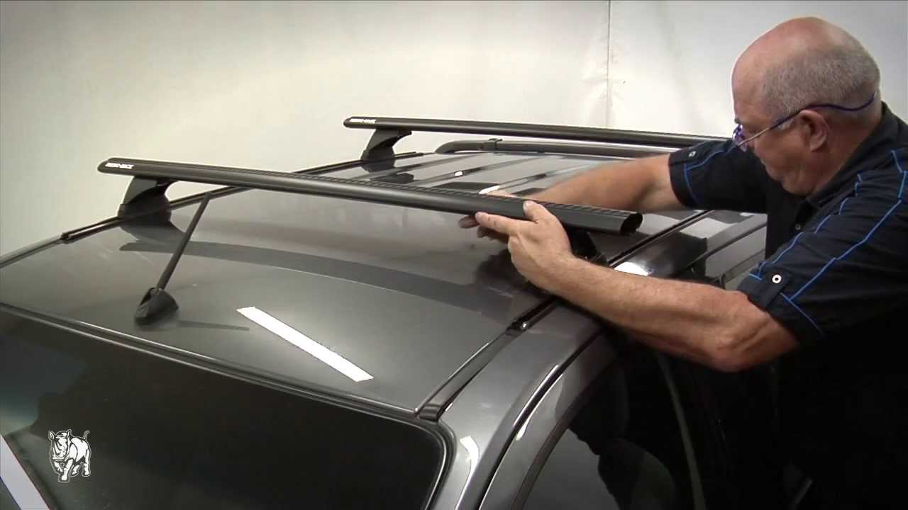 Rhino Rack How To Fit Vortex Rlt500 Roof Rack Systems