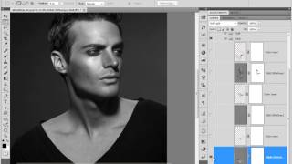Chapter 4 Video2-Male model workflow analysis