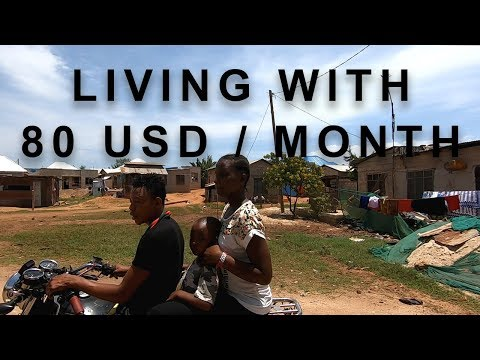 Living with 80 USD a month in Dar es Salaam (Tanzania)