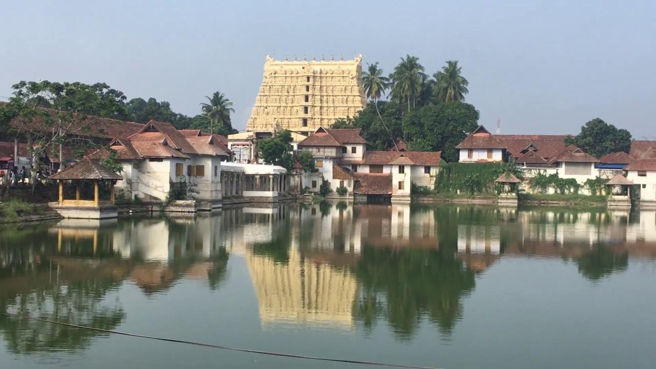 Kuil Padmanabhaswamy, Trivandrum, Kerala
