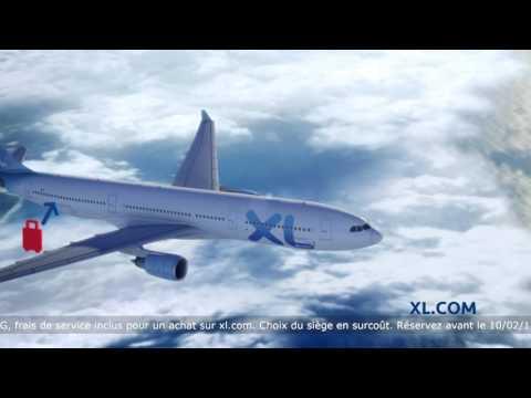 Publicité XL Airways - Paris - New York à partir de 389 € A/R