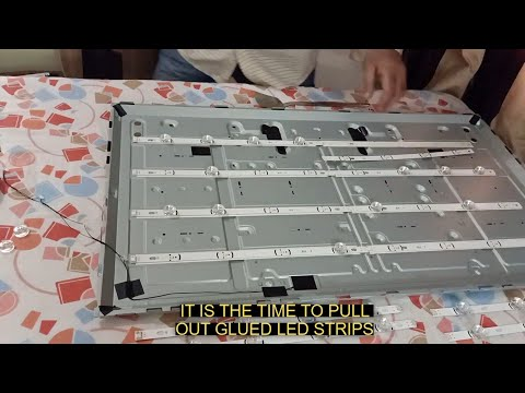 LG LED TV Black screen fixing|Only sound|Easy to repair|DIY|Save money| Back light|Fused|Replacement