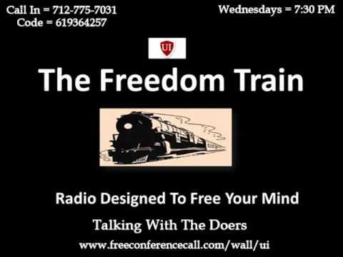 Freedom train with Cassie Hammock