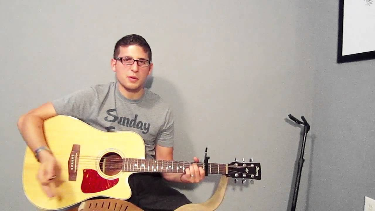 How To Play Some Nights By Fun Guitar Tutorial Easy Youtube