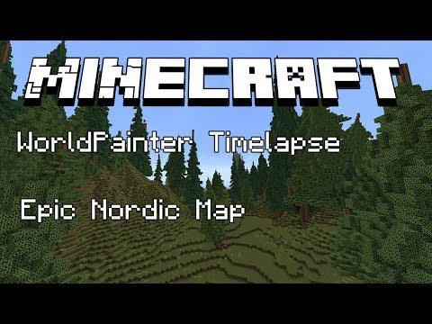 minecraft world painter map download