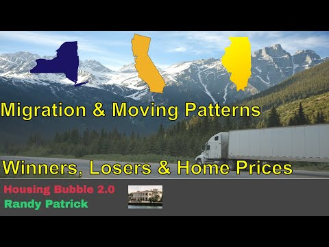 Housing Bubble 2.0 - Migration & Moving Patterns - Winners, Losers & Home Prices