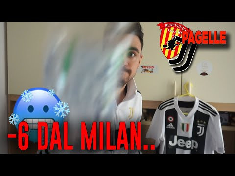 ANCORA SCLERO! COME STA UNO JUVENTINO A -6 DAL MILAN?! Benevento Juventus 1-1| Pagelle
