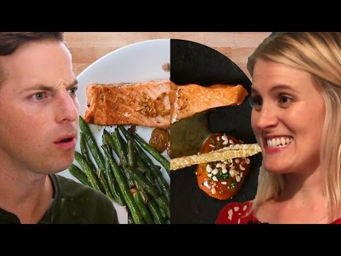 Thumbnail: Couple Tries Home-Cooking Vs. $120 Salmon