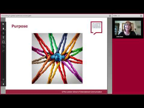 Presenting to Global Audiences Webinar