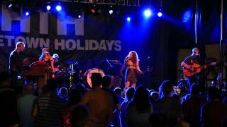 """""""Cold Day in Heaven"""" - Delta Rae - at the Rockville Hometown Holidays - May 24, 2015"""