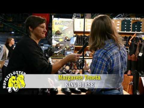 Bild: Fasziation Pferd Nürnberg - Interview mit Margarete Teneta von King Horse aus Polen