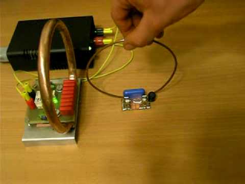 wireless power transmission circuit diagram 1948 ford 8n wiring transfer via inductive coupling - youtube
