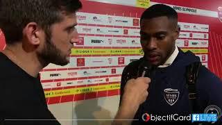Victoire du Nîmes Olympique face à Marseille, réaction de Loïck Landre