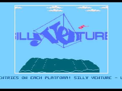 Desire's Sillyventure 2017 Invitation called Happy Days - for Atari 800 XL/XE
