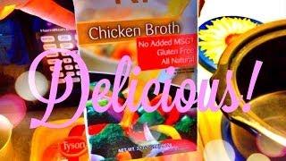 Cooking W/vee: Crockpot Chicken & Stuffing
