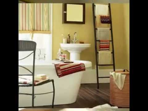 DIY Bathroom towel decorations
