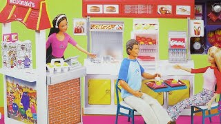 Barbie McDonald's Funtime Restaurant Playset & what it is worth