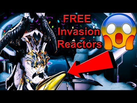 FREE Reactor Invasions & Talking About Trade Chat | Warframe