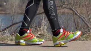 What is forefoot running?