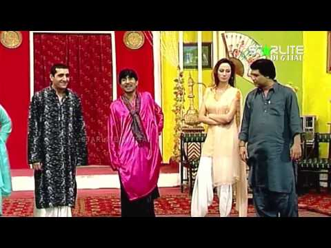 Best Of Zafri Khan and Sajan Abbas New Pakistani Stage Drama