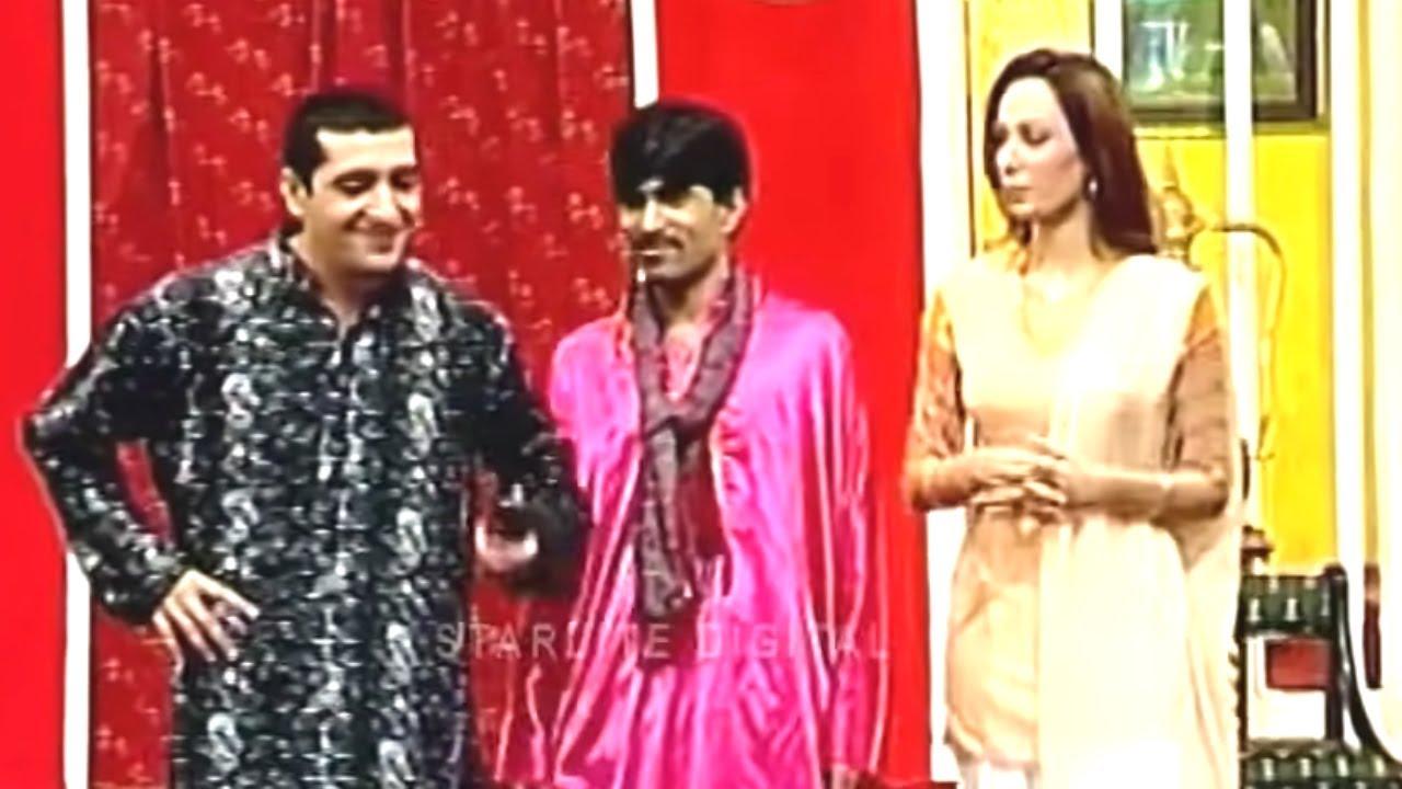 Best Of Zafri Khan and Sajan Abbas New Pakistani Stage Drama Full Comedy Funny Clip