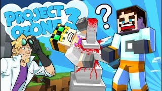 Minecraft Project Ozone 3 - MOB GRINDING ACCIDENT #12