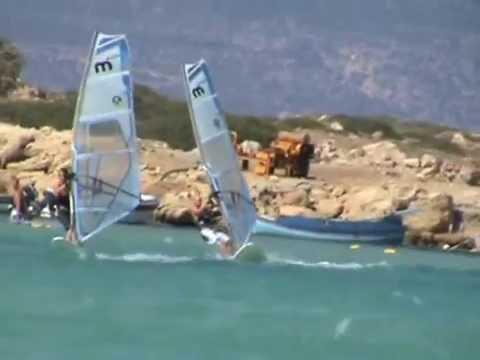 windsurfing @ Karpathos - Club Mistral - Lukasz