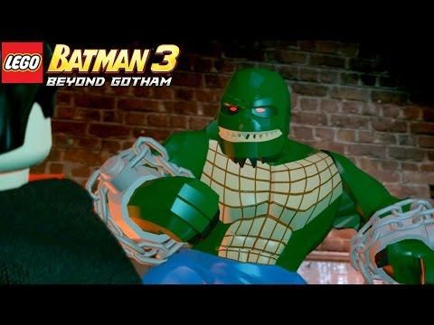 LEGO Batman 3 Beyond Gotham   #1 ENFRENTANDO O CROCODILO NO ESGOTO