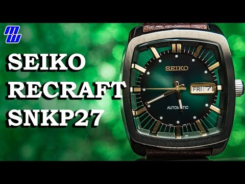Seiko Recraft SNKP27 - Review And Measurements, Thoughts
