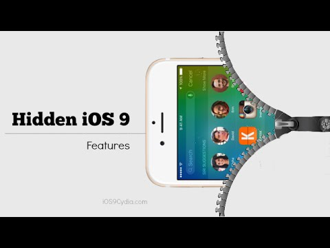 Top 20 Hidden Features of iOS 9. What Apple Didn't Tell You.