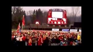 GVSU at SVSU - Football Highlights - Battle of the Valleys - Saginaw 2012
