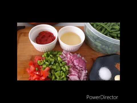 belle-recette-à-base-d'haricots-verts-et-pommes-de-terre