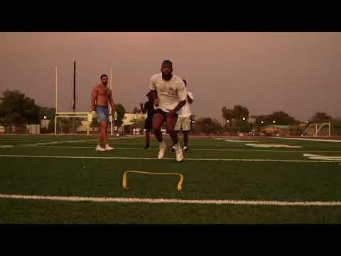 "Baltimore Ravens: Rashod Bateman, Marquise ""Hollywood"" Brown and Mark Andrews route running workout"